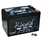 Kinetik HC400 BLU 400W 12V High Current AGM Car Audio Battery Power Cell (BLU Series)