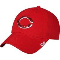 Women's Fan Favorite Red Cincinnati Reds Sparkle Adjustable Hat - OSFA