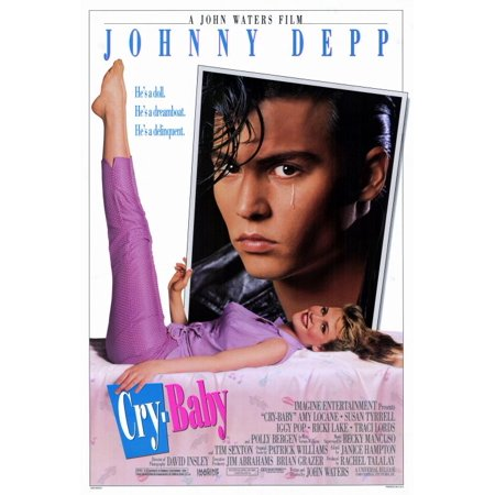 Baby Themed Movies (Cry Baby (1990) 27x40 Movie)