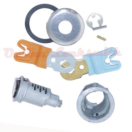 New Door Lock Cylinder Kit For Ford Truck Van Ranger DL5886 Uncoded No Wafers