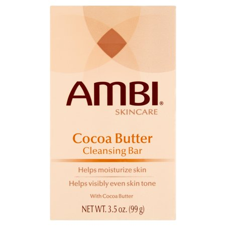 Ambi Skincare Cocoa Butter Cleansing Bar  3 5 Oz