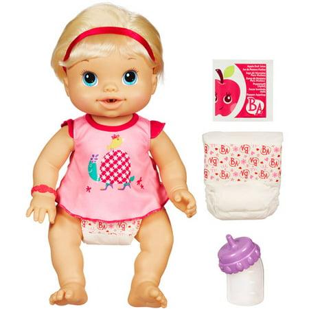 Baby Alive Wets 'N Wiggles Doll, Blonde