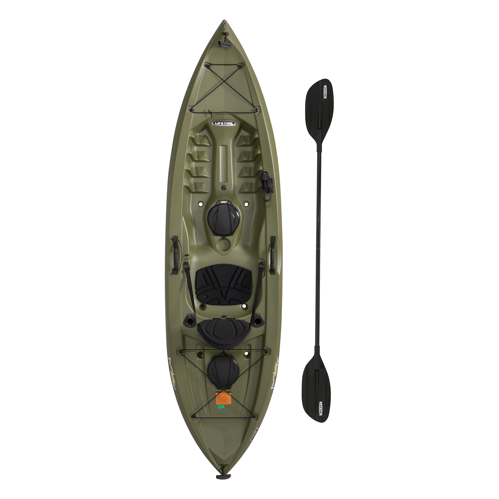 Lifetime 10′ Tamarack Angler Kayak with Bonus Paddle