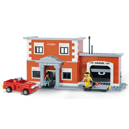 COBI Action Town Engine 13 Fire Station