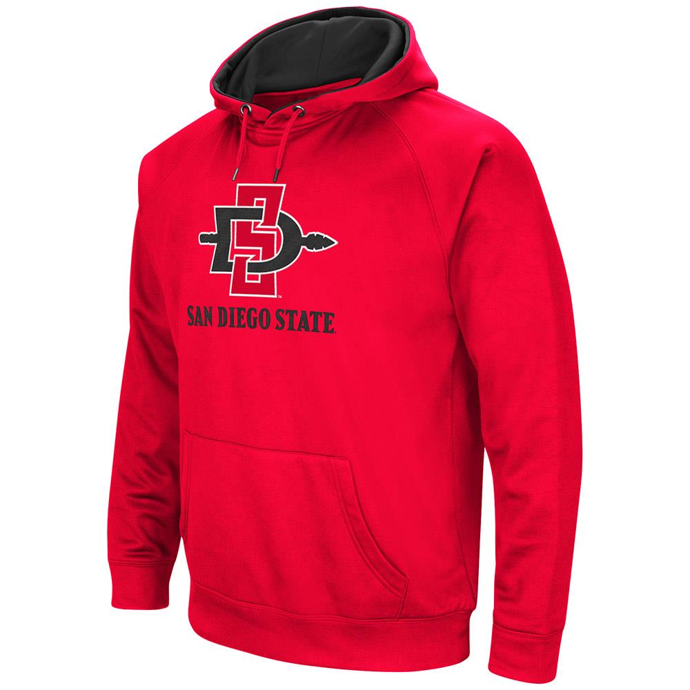 Mens NCAA San Diego State Aztecs Fleece Pull-over Hoodie
