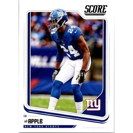 2018 Score #228 Eli Apple New York Giants Football Card