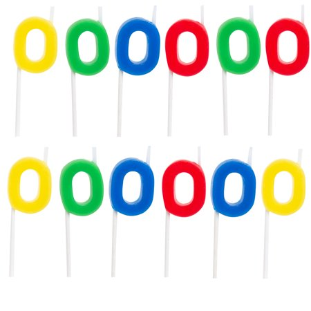 67 12 Pack Birthday Candles For Party Supplies Cake Topper Set Decorating With Shapes Letters Sports Kids And Adults