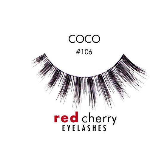 Troika Red Cherry Eyelashes Option Black 106 Walmart