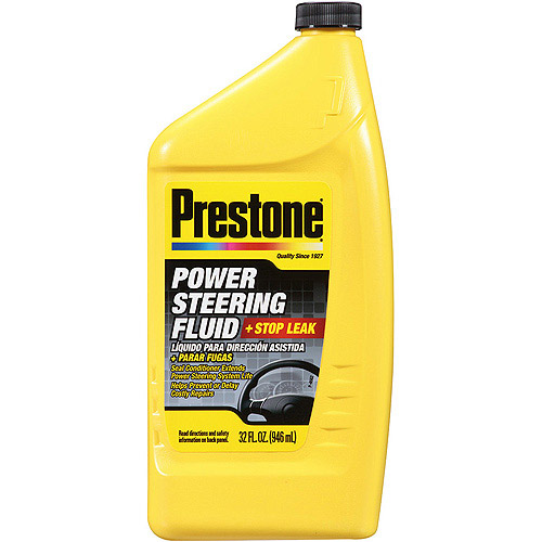 Prestone Power Steering Fluid Plus Stop Leak, 32 oz