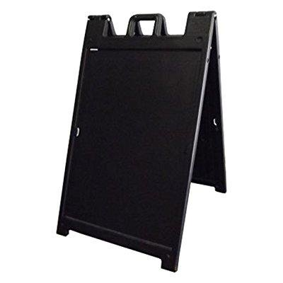 A-frame Sandwich Sign - deluxe signicade a-frame sidewalk curb sign with quick-change system, black