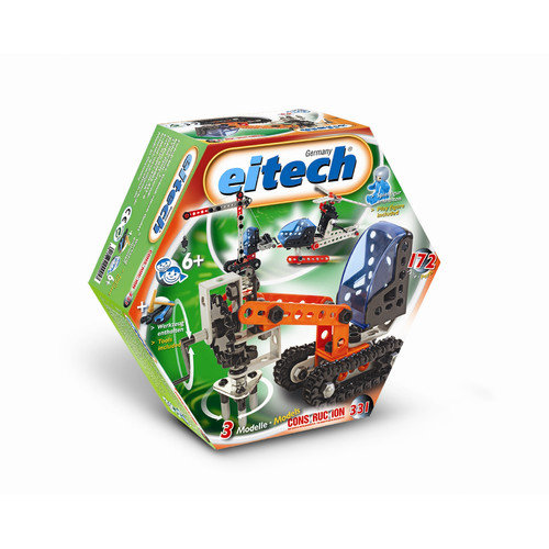 Eitech Beginner 3-Model Construction Set