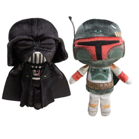 Star Wars Funko Set Of 2 Disney Galactic Plushies Cute Stuffed