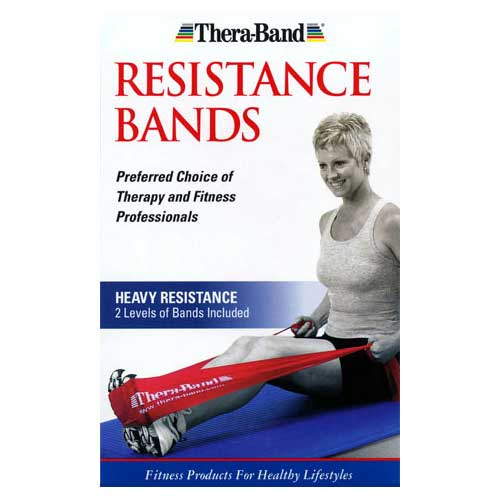 Thera-Band Heavy Resistance 2-Pack Bands