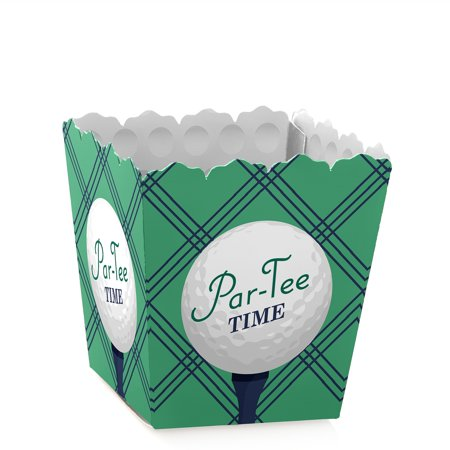 Par-Tee Time - Golf - Party Mini Favor Boxes - Retirement or Birthday Party Treat Candy Boxes - Set of 12 - Golf Favors Ideas