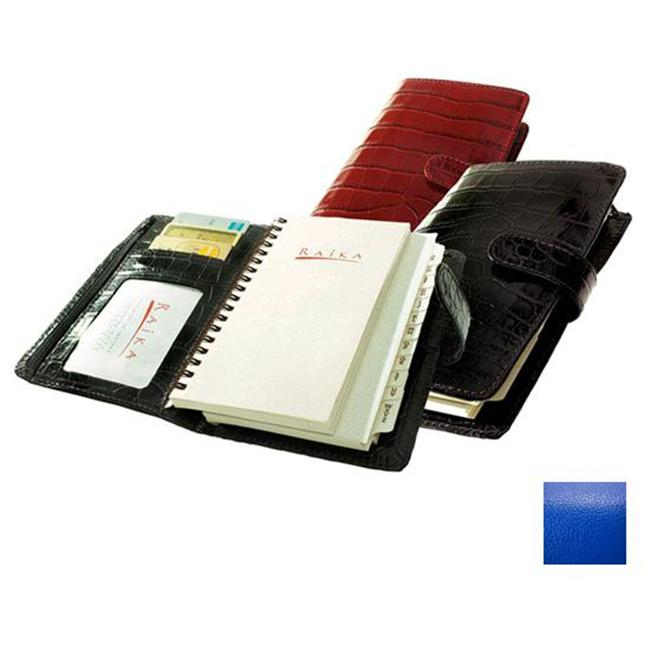 Raika RO 207 BLUE 4.5in. x 6.75in. Pocket Planner - Blue