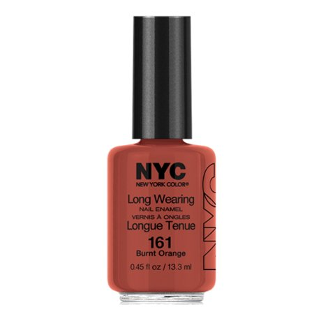 NYC Long Wearing Nail Enamel -  Brunt Orange (3 Paquets) - image 1 de 1
