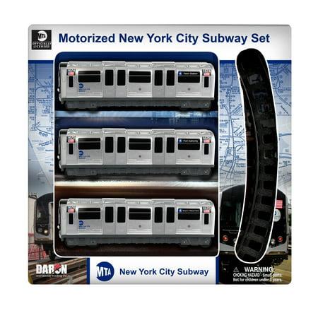 Mta Motorized Nyc Subway Train Set W Track