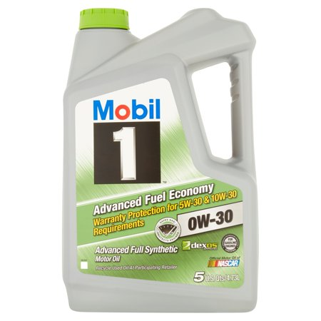 Mobil 1 0w 30 advanced fuel economy full synthetic motor for Best non synthetic motor oil
