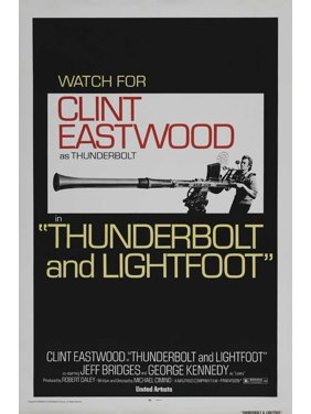 "Thunderbolt and Lightfoot - movie POSTER (Style C) (11"" x 17"") (1974)"