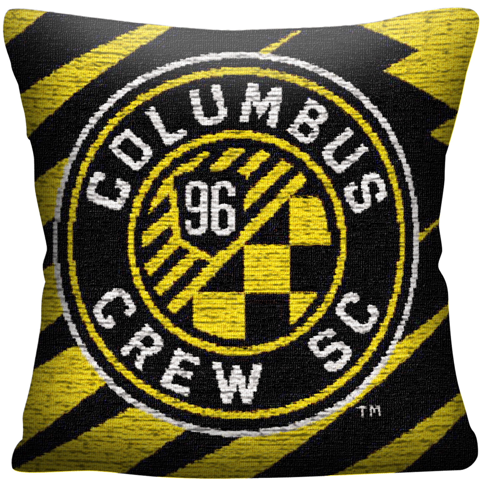 Columbus Crew SC The Northwest Company MLS Jacquard Pillow - No Size