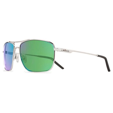 Revo Eyewear Sunglasses Groundspeed Chrome Polarized Green Water (Chrome Lens Sunglasses)