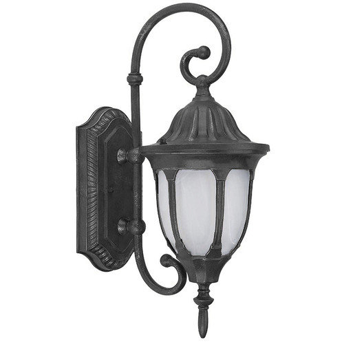 Yosemite Home Decor 1 Light Exterior Lighting Wall Mount in Brown