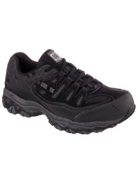 Skechers Work Men's Relaxed Fit Cankton Steel Toe Safety Shoe