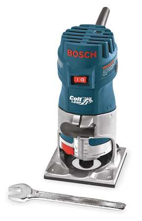 Colt PR10E Electronic Single Speed Corded Palm Router 120 V 5.6 A 1 hp 35000 rpm by Bosch