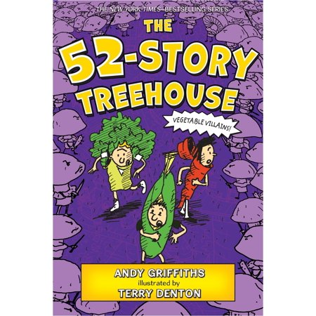 - The 52-Story Treehouse: Vegetable Villains! (Paperback)