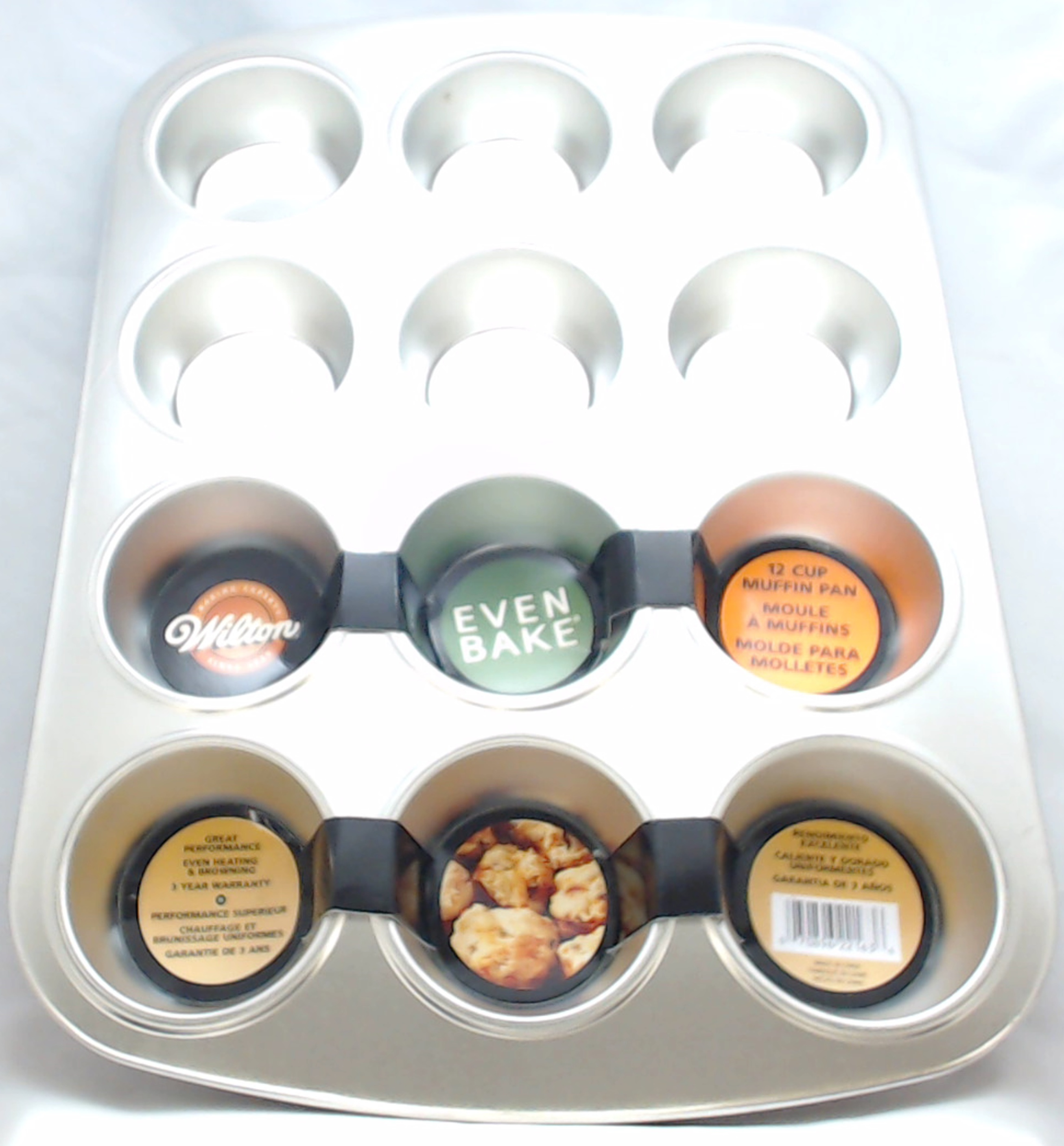 Wilton Even Bake 12 Cup Muffin Pan, 2105-2163