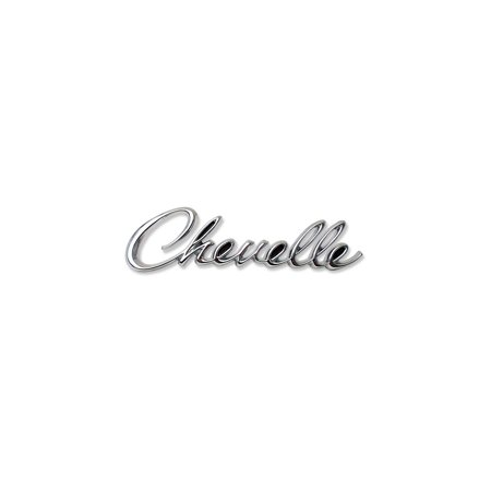 Eckler's Premier  Products 50-205264 Chevelle Rear Panel Emblem, Chevelle, Chevelle Rear Panel Emblem