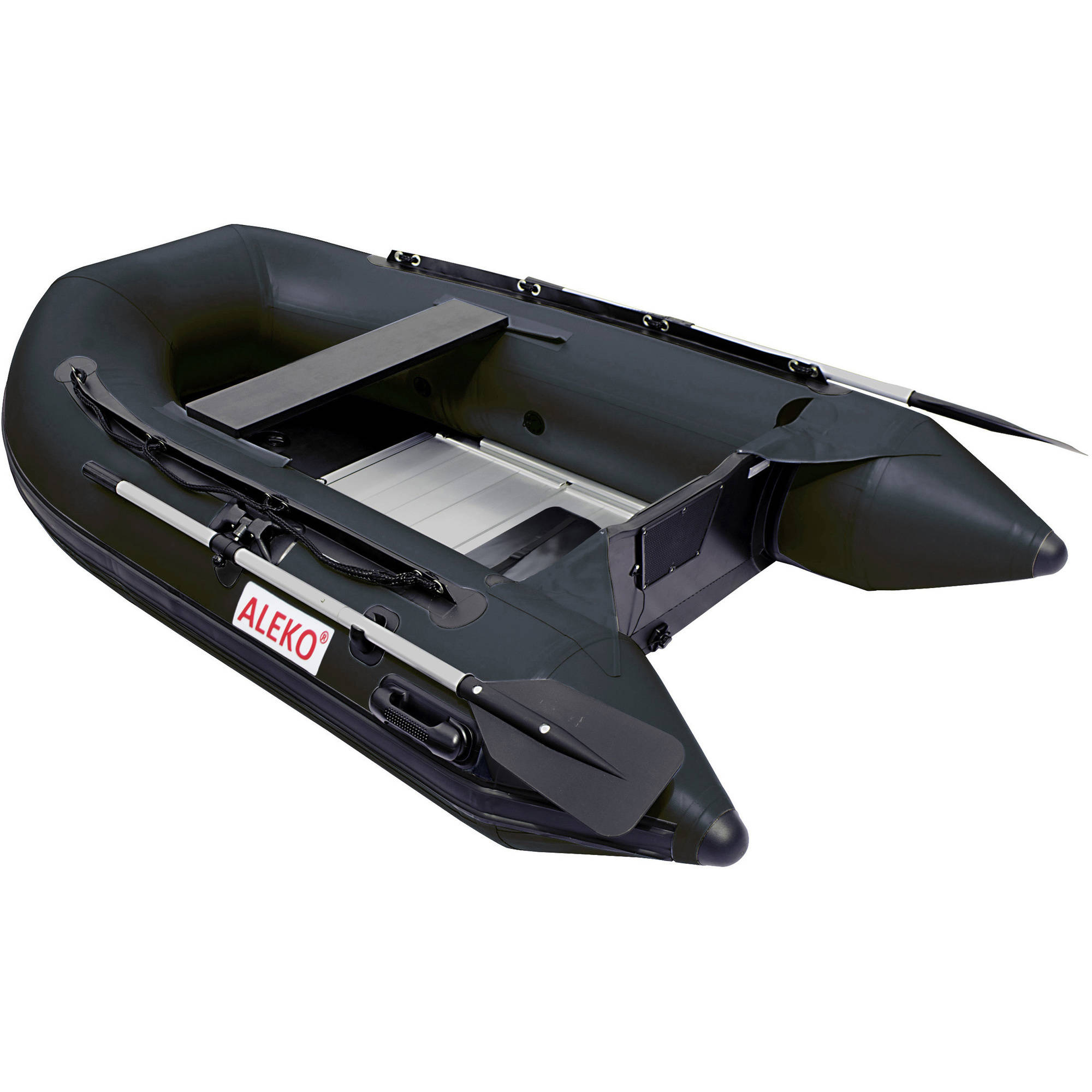 ALEKO Inflatable Boat Aluminum Floor 8.4 Feet Black by ALEKO