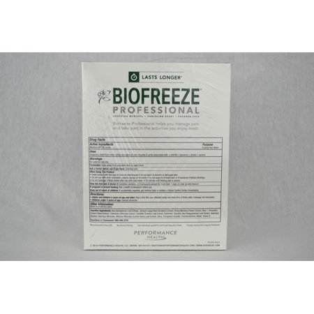 Biofreeze Packets Dispenser 3ml 100/Bx-Box of 100