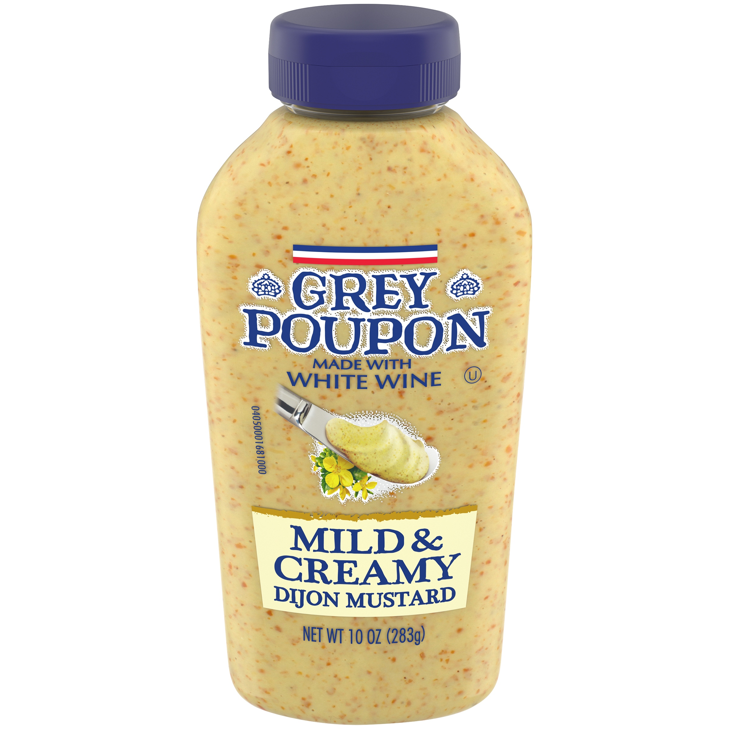 Grey Poupon Mild & Creamy Dijon Mustard 10 oz. Bottle - Walmart.com