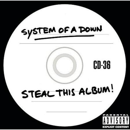 Down Cd Album - Steal This Album (CD) (explicit)