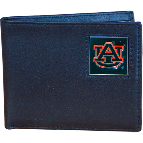 NCAA - Siskiyou - Bi-Fold Leather Wallet - Auburn University Tigers