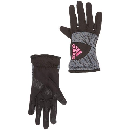 adidas Women's Mequon Performance Gloves (Pink, M) Adidas Field Players Gloves