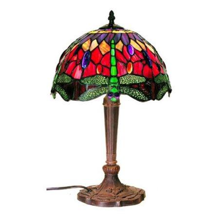 (Warehouse of Tiffany Dragonfly Table Lamp)