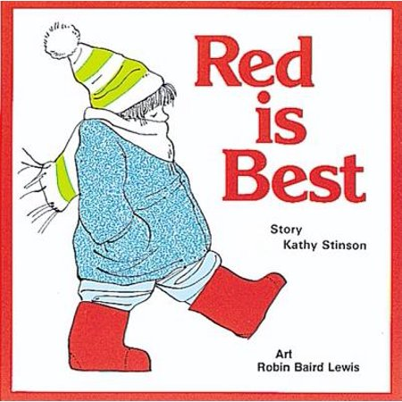 Red Is Best (Anniversary) (Paperback) (Best Thing At Red Robin)