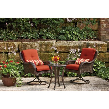 Better Homes And Gardens Lake Island 3 Piece Wicker Bistro