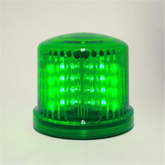 Fortune Products PL-300GJ Ultra Bright LED Beacons  battery operated-Jack -Green