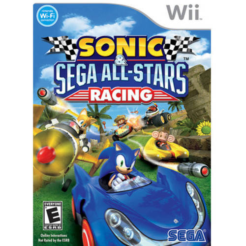 Sonic All Star Racing (Wii) - Pre-Owned