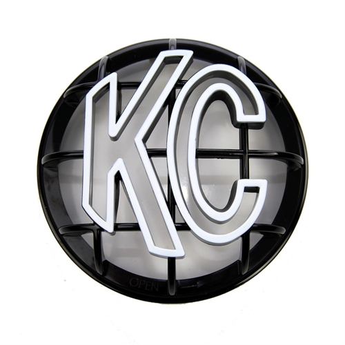 "KC Hilites 5"" Apollo Black Plastic Light Cover 7217"