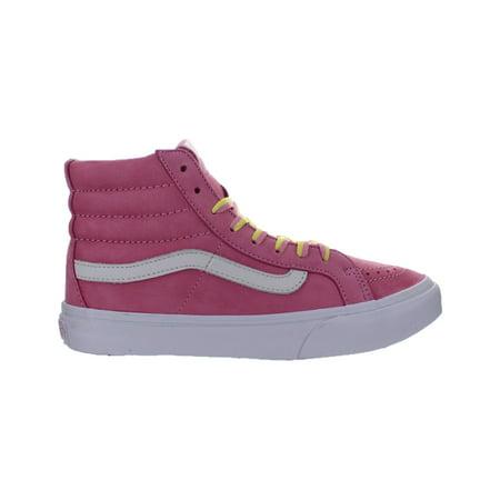 VANS - Womens Vans Sk8-Hi Slim YOM Pink Leather VN00018IJA5 - Walmart.com d257bee4f