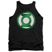 Green Chrome Logo Mens Tank Top Shirt