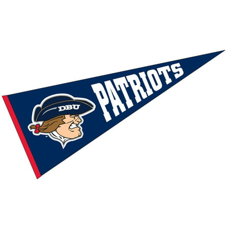 Dallas Baptist Patriots Flock Printed Wool Pennant - Patriots Pennant