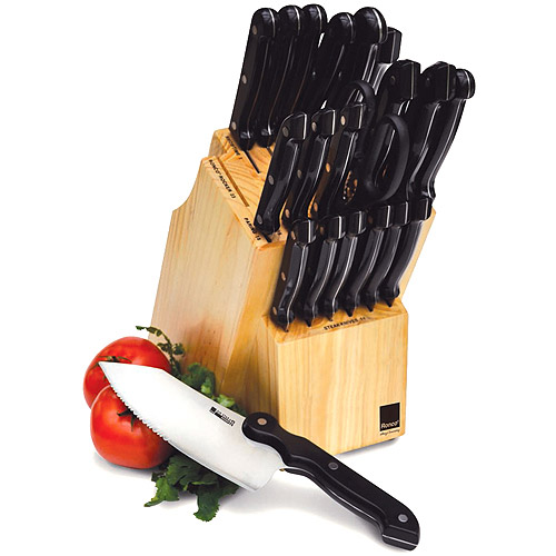 Ronco Six Star+ 20 Piece Cutlery Set with Ronco Rocker