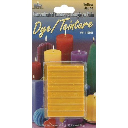 Concentrated Candle Dye .75oz Blocks-Yellow ()