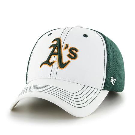 Oakland Athletics 47 Brand Mlb  Cooler Mvp  Structured Adjustable 2 Tone Hat