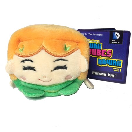 Kawaii Cubes DC Comics Poison Ivy Plush (Best Stuff For Poison Ivy)